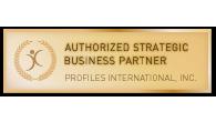 AUTHORIZED STRATEGIC BUSINESS PARTNER OF PROFILES INTERNATIONAL, INC.